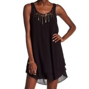 Volcom   Honey Money Embellished Shift Dress